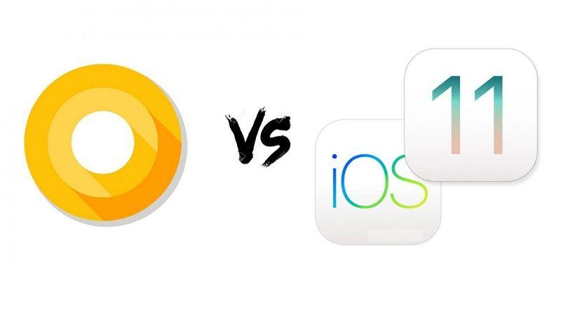 Android Oreo vs iOS 11