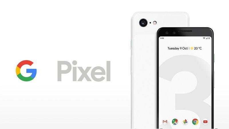 Android en un Google Pixel