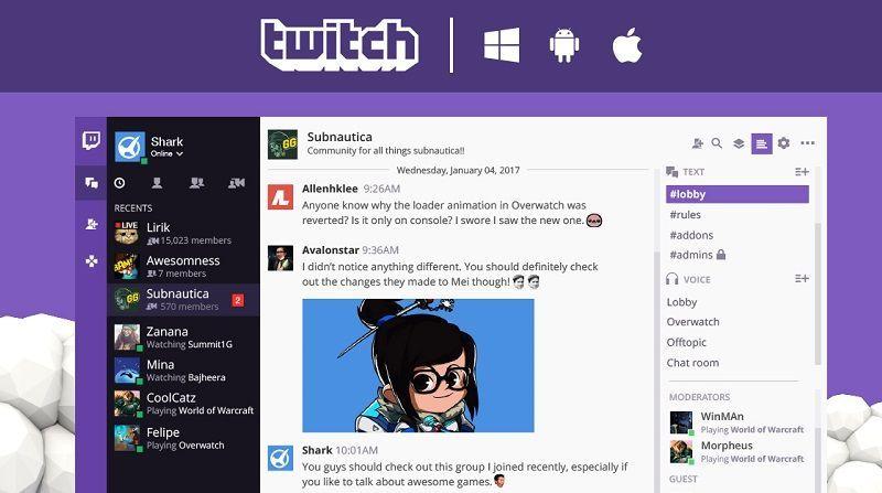 App de Escritorio de Twitch