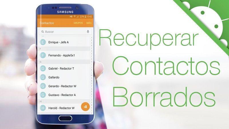 Contactos Perdidos o Eliminados en Android