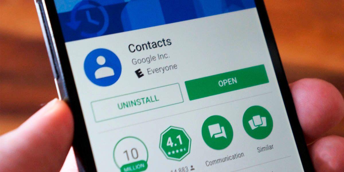 Contactos de Google