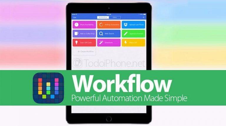 DescargarWorkflow Para iOS iPhone