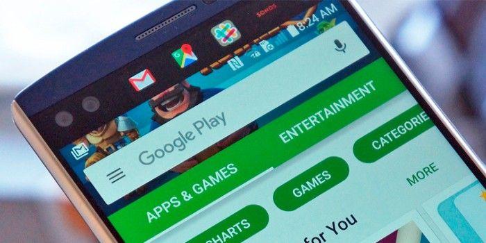 Error de Google Play Store