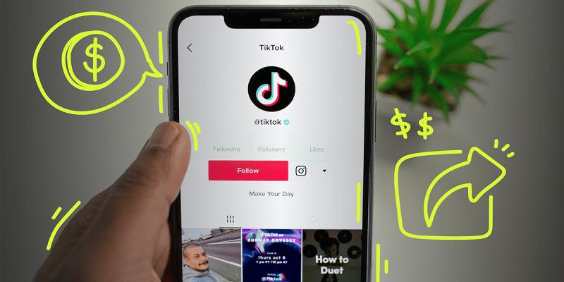Ganar dinero viendo videos TikTok