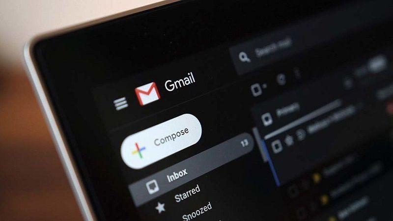 Gmail Modo Oscuro