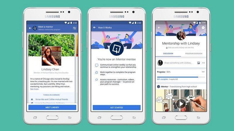 Herramienta de Facebook Unirá Mentores con Alumnos