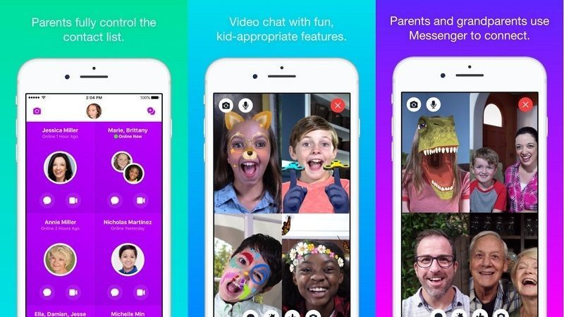 Messenger Kids by Facebook