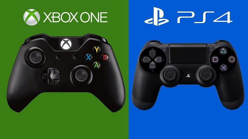 PS4 or Xbox One controladores