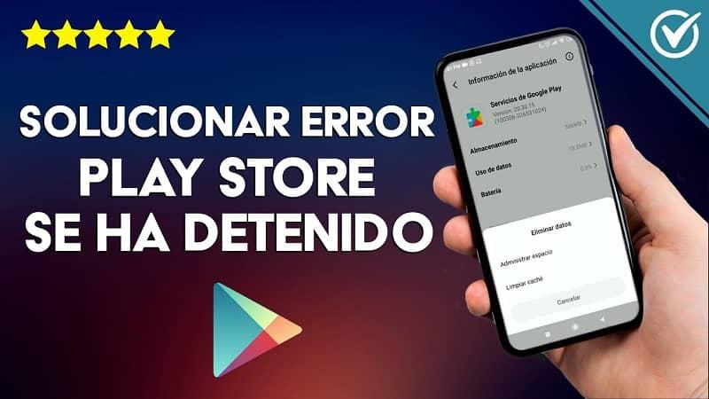 Se ha Detenido la Aplicación de Google Play