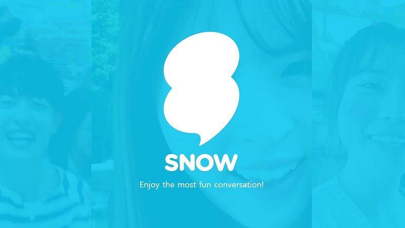 Snow app Snapchat clone