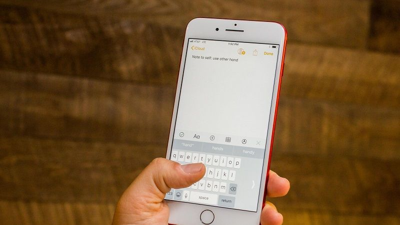 Teclado con una Sola Mano en iOS 11