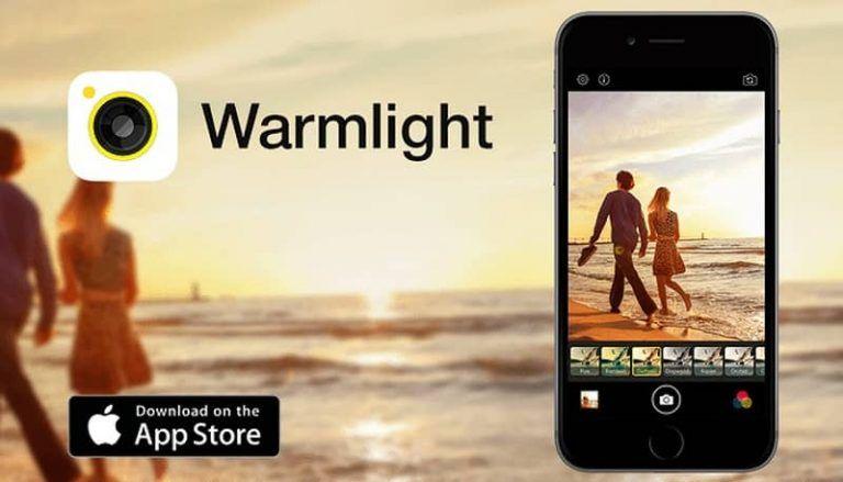 Warmlight Filtros y Efectos Para Fotos en iOS