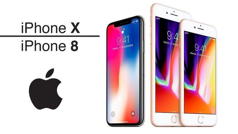iPhone 8 y X