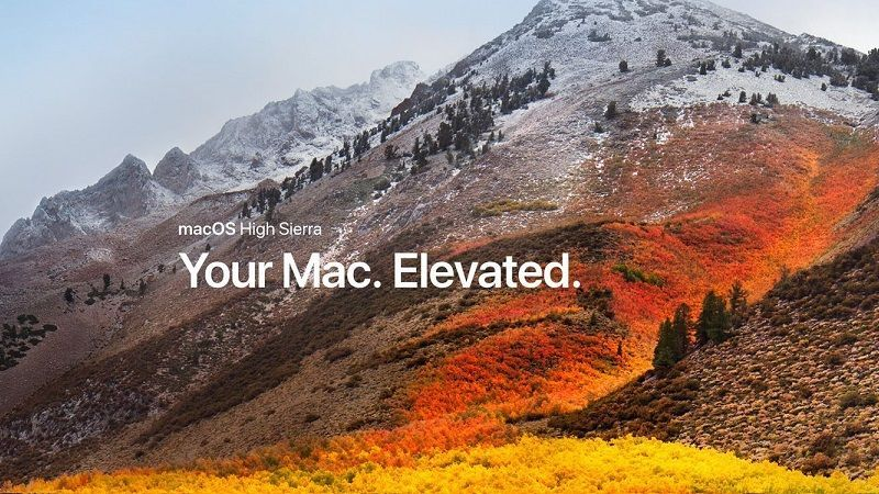 macOS High Sierra 10.13.3